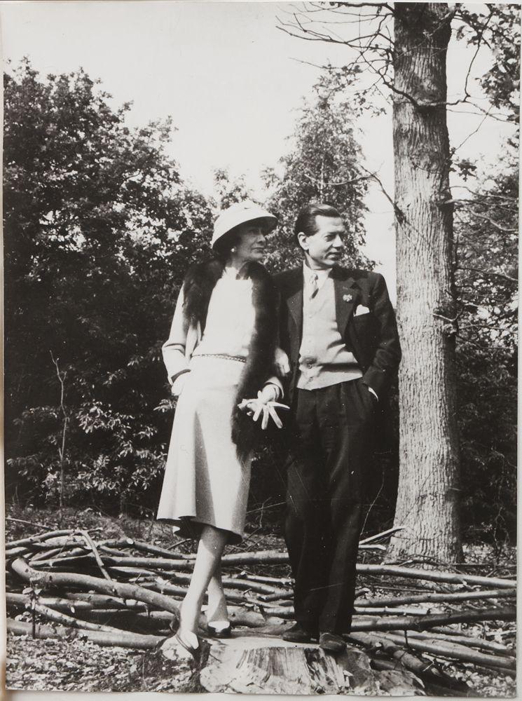 CHANEL - Coco Chanel and Serge Lifar