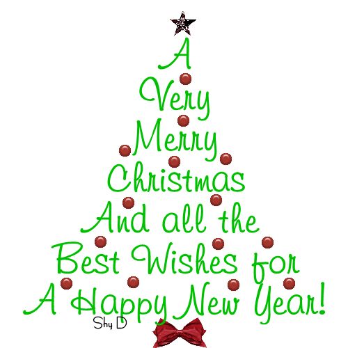 The Best Merry Christmas And Happy New Year Clipart