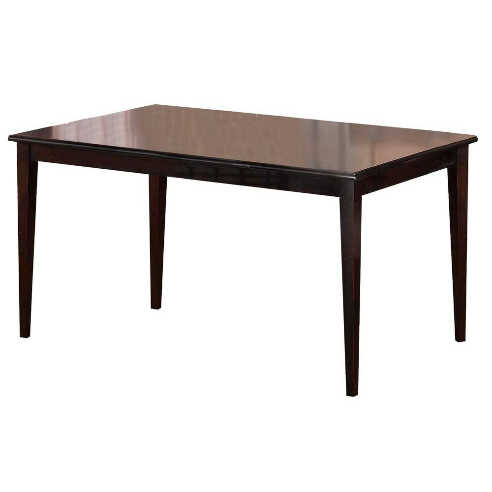 Bayberry Rectangle Dining Table in Dark Cherry