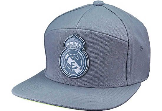 Real Madrid Polyester Training Cap Hat White Football Womens