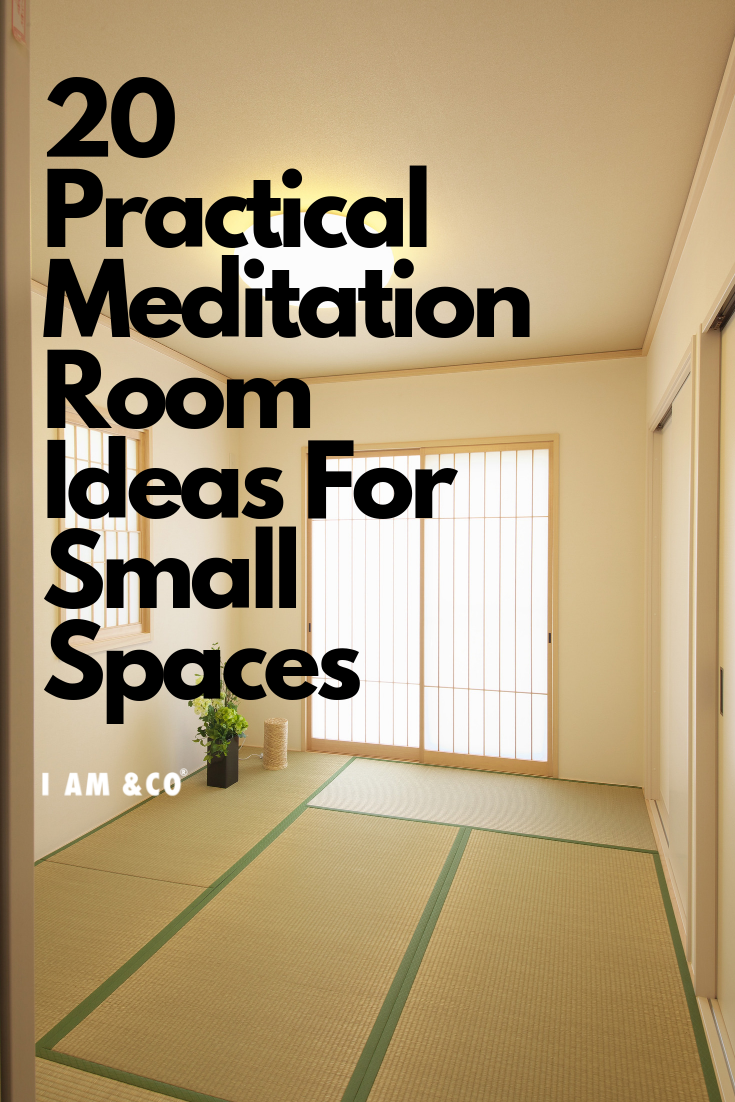 20 Practical Meditation Room Ideas For Small Spaces images