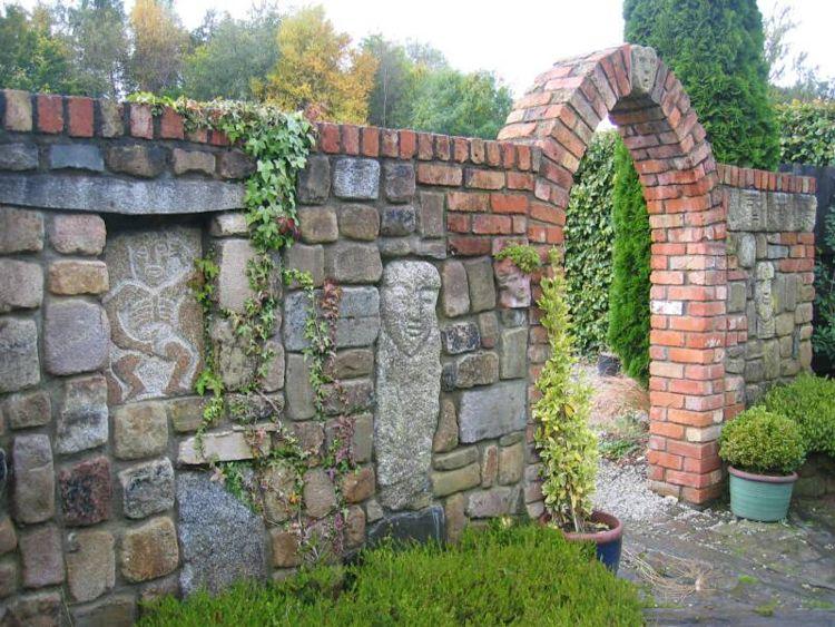 Bakstenen Muur Tuin : Een stenen tuin inrichten? 10 mooiste voorbeelden tuin jardines