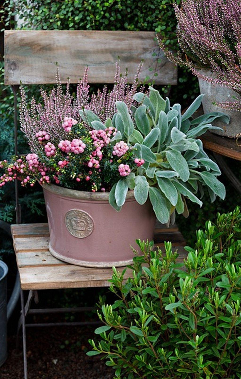37 Simple Container Garden Flowers Ideas Ogrodnictwo Pojemnikowe Donice Ogrodowe Rosliny W Pojemnikach