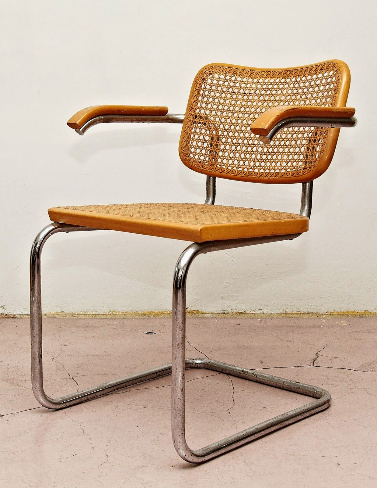 marcel breuer cesca chair with armrests teak adirondack ourso designs 1928