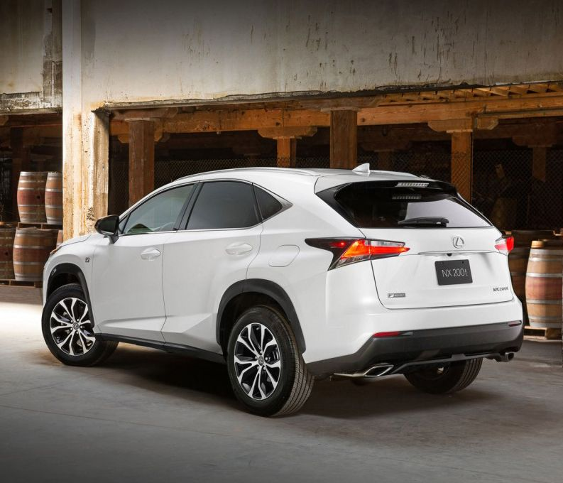 2015 Lexus NX 200t F Sport Motor Authority Car wheels