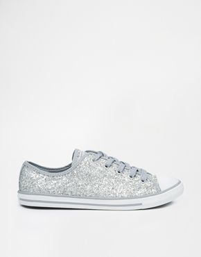 Converse Chuck Taylor All Star Dainty Silver Glitter