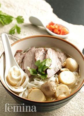 Femina Co Id Beef And Fish Ball Noodles Resep Resep Masakan Resep Sup Resep Makanan