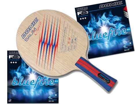 The Donic Baum Esprit Comes Assembled With Bluefire M2 Rubber The Baum Esprit Is The Blade Used By European Star Patrick Baum Constructed With Ara Table Tennis