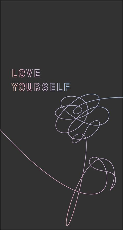 Wallpaper Love Yourself : BTS Love Yourself Wallpapers (pt. 2!) - Album on Imgur BTS Pinterest BTS, Wallpaper and Album