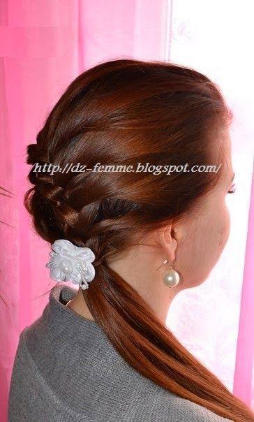 تسريحات شعر بسيطة Easy Hairstyles Fashion Hair Styles
