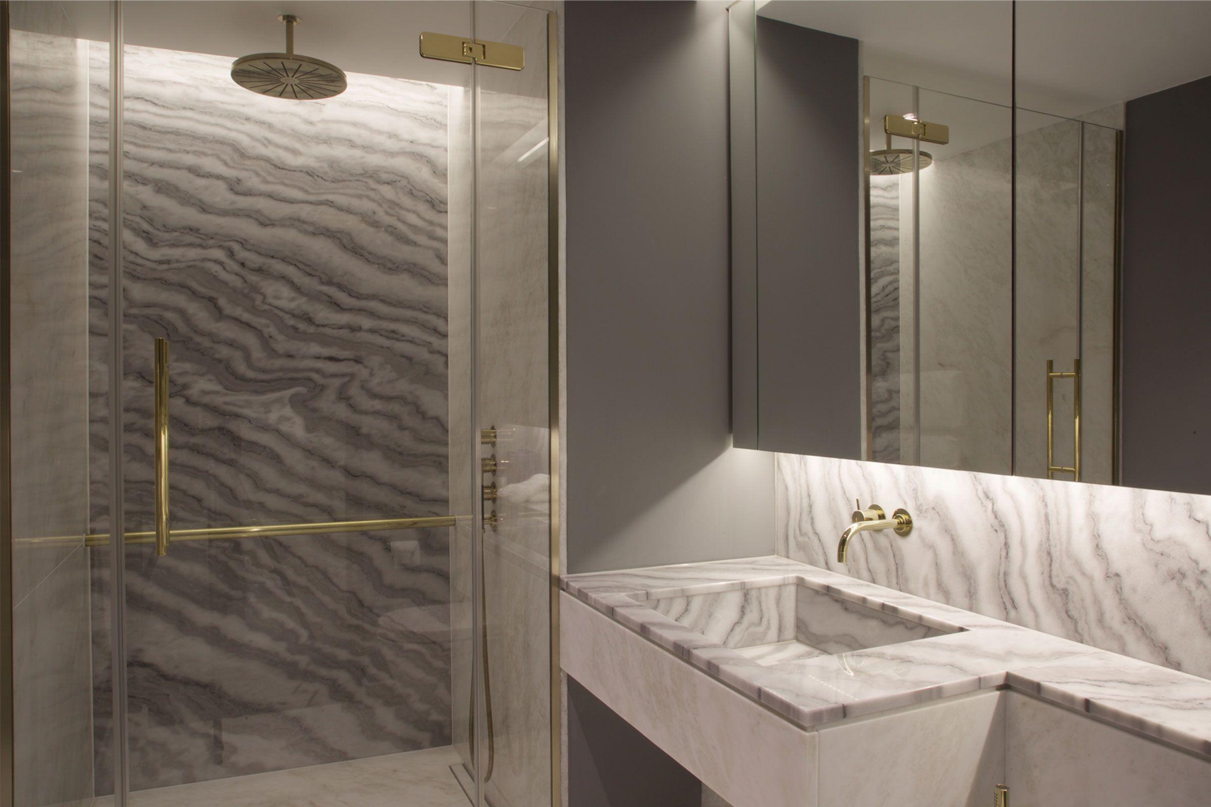 Riverside Apartment Bathroom Lawson Robb