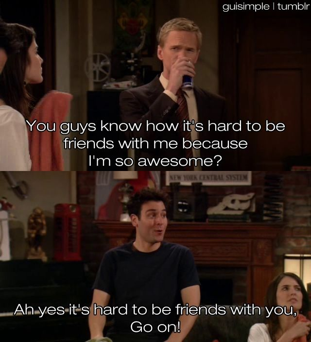 How I Met Your Mother INSULT