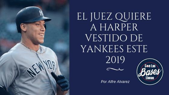 Yankees De Harper 2019Con A Vestido Aaron Quiere Las Judge Este oWrQxCBed