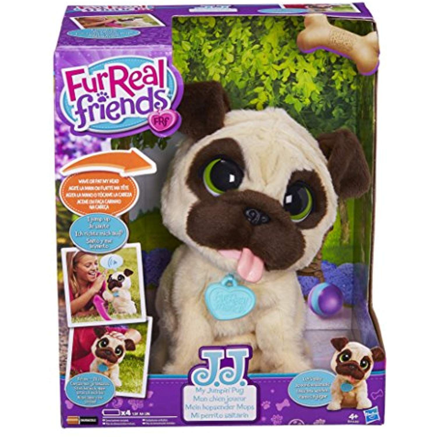 Furreal Friends Jj My Jumping Pug Pet Toy Click On The Image For Additional Details This Is An Affiliate Link Fur Real Friends Pet Toys Little Live Pets