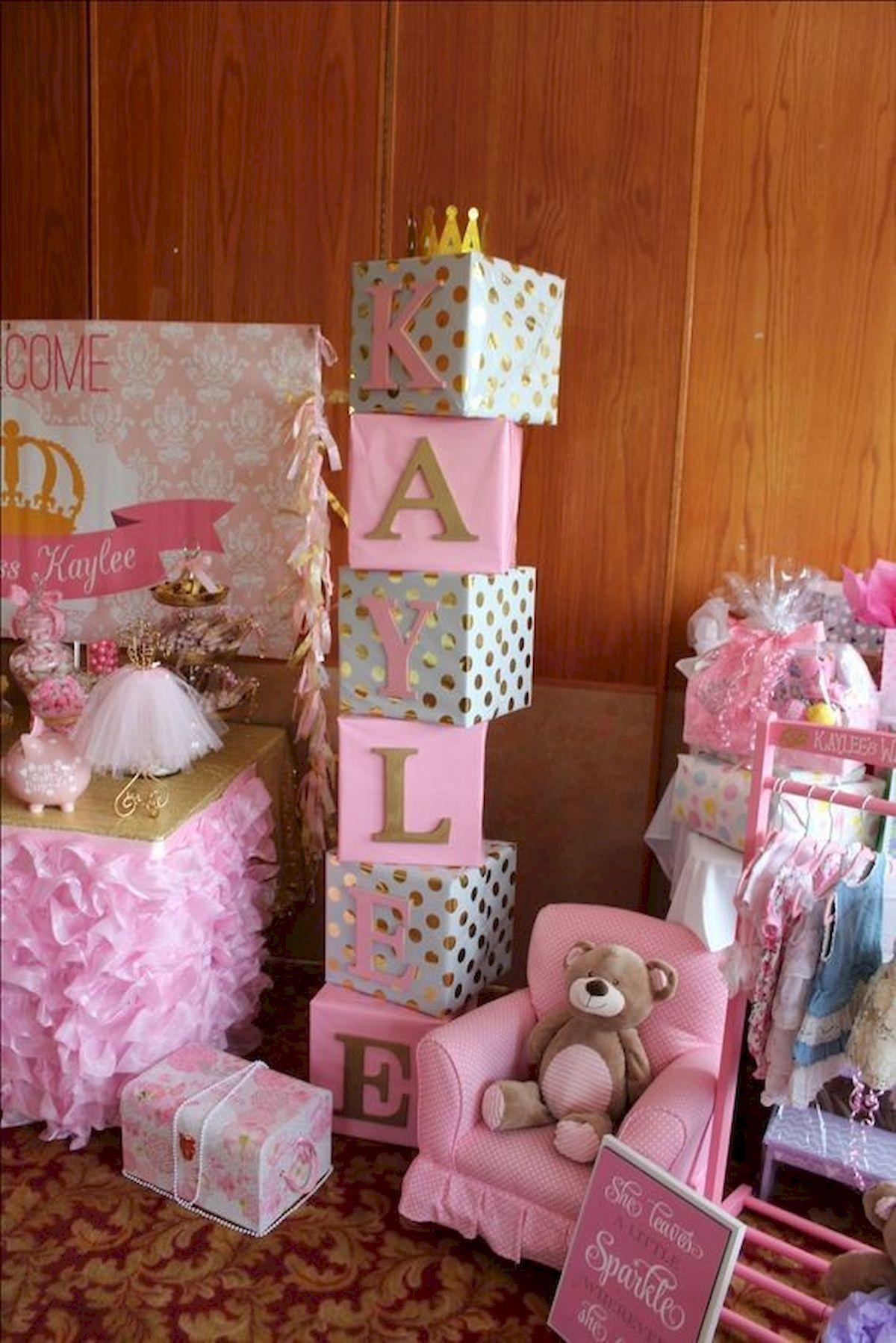 50 Cute Baby Shower Themes And Decorating Ideas For Girls 3 Babyshoweroso Unicornbabyshower Baby Shower Themes Girl Baby Shower Decorations Baby Shower Diy