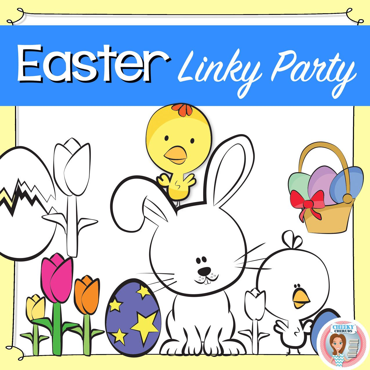 Easter Linky Party Do You Have A Tpt Store Or A Blog