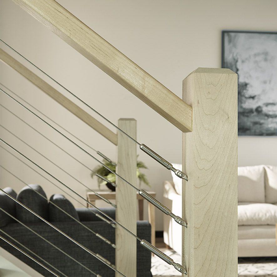 Pin By Crown Heritage Stairs On Cable Cable Railing | Crown Heritage Cable Rail