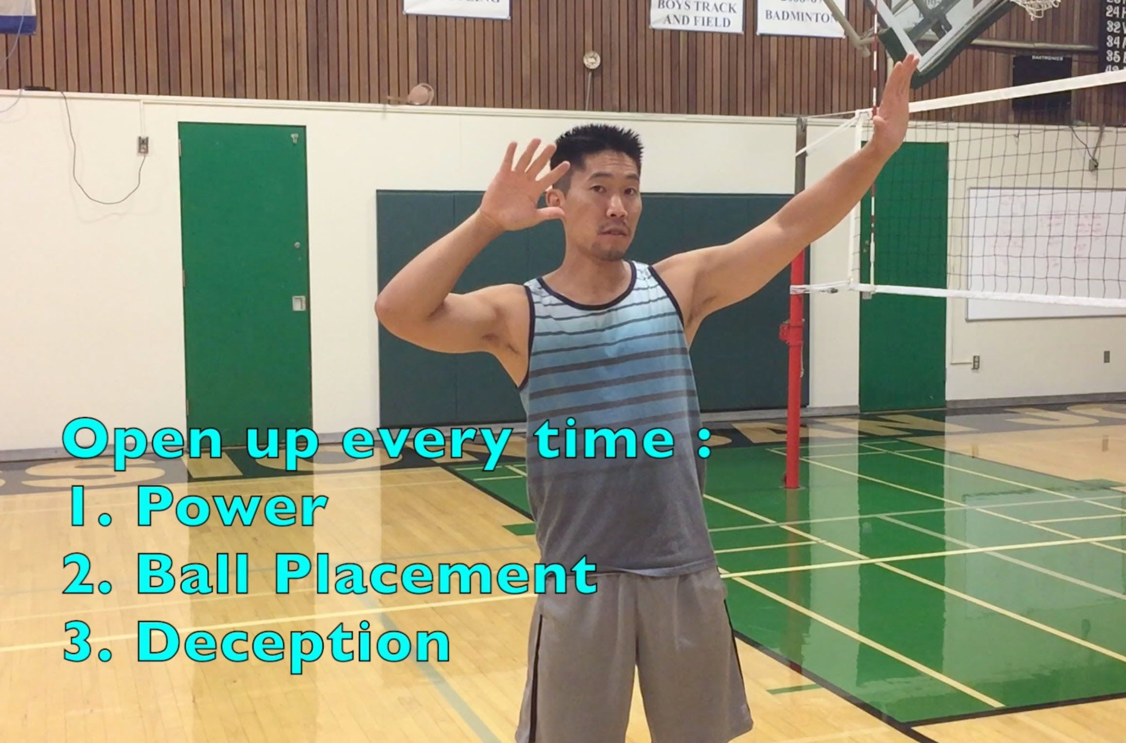 How to spike anywhere on the court volleyball tips