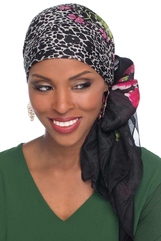 100 Pure Silk Head Scarf Silk Scarf for Hair Silk