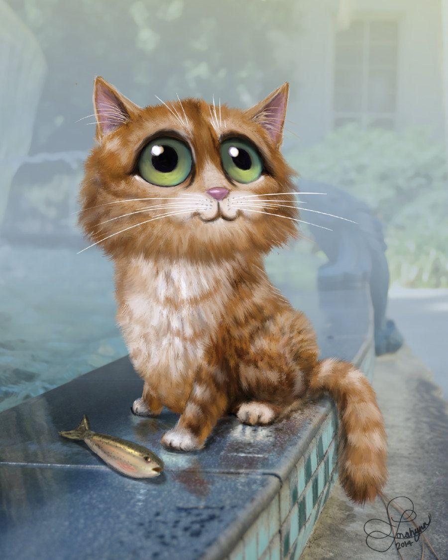 cute art Recherche Google Cat artwork, Cats