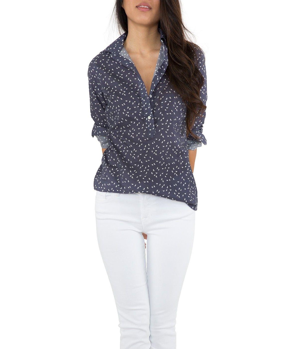 Ann Mashburn Tomboy Popover Shirt / AnnMashburn.com