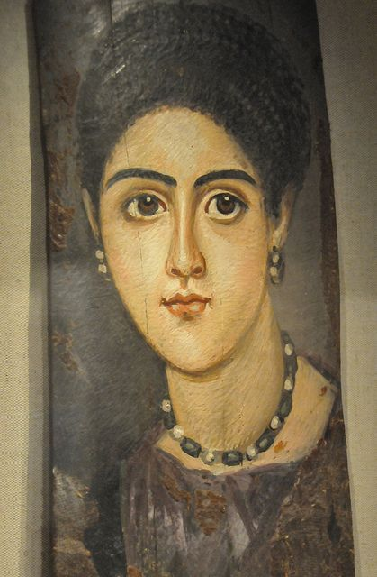 Byzantine Painting of a woman at Walters Art Gallery Baltimore, MD by mbell1975, via Flickr