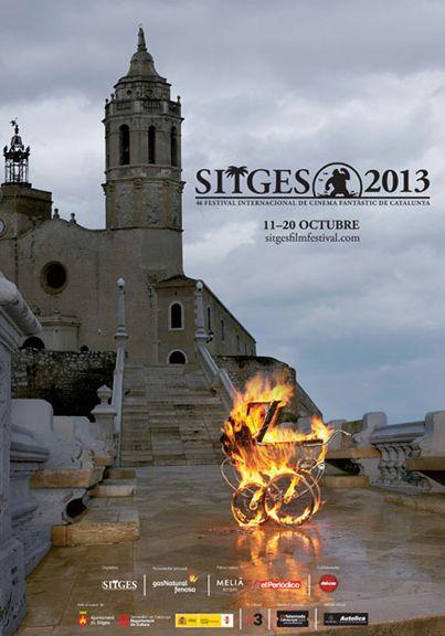 Fantástico cartel de la 46 edición del Festival de Sitges que empieza hoy.