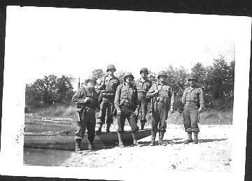 WW II soldiers in Europe