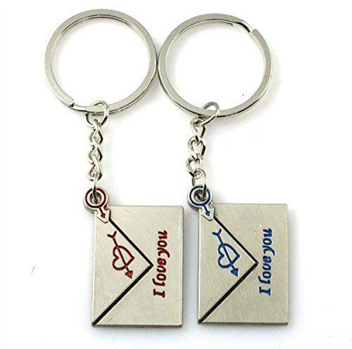 "Liroyal Couple Keychain Keyring --- ""I Love You"" Heart + Key --- Lover Sweetheart Gift for Valentine's Day / Wedding Anniversary / Birthda(1 pair) - http://www.newofficestore.com/liroyal-couple-keychain-keyring-i-love-you-heart-key-lover-sweetheart-gift-for-valentines-day-wedding-anniversary-birthda1-pair-6/"