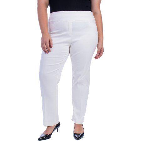 f1f0c3c4c6b George Women s Plus-Size Millennium Suiting Pull-On Pant