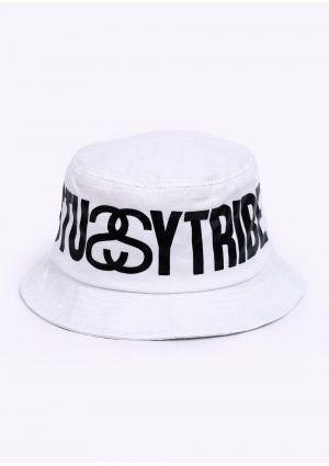 e29031fb952 Stussy Tribe Bucket Hat - White
