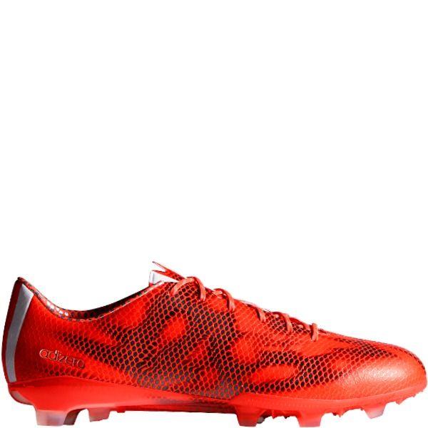 adidas f50 adizero trx fg solar red core white black soccer cleats model