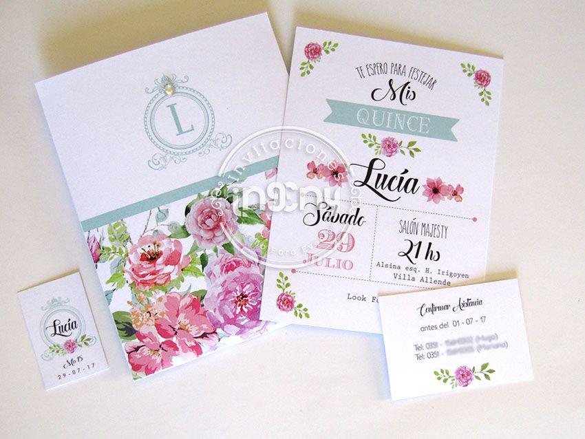 Invitaciones Originales Invitacion 15 Años Quinceaños Mis