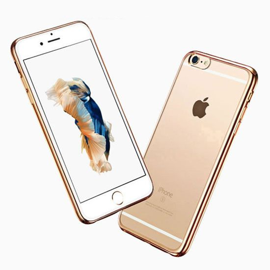 Iphone 6 6s Ultra Thin Luxury Gold Tpu Soft Back Cover Clear Silicon Case For Apple 4 Iphone Case Protective Iphone Case Covers Iphone Cases Disney