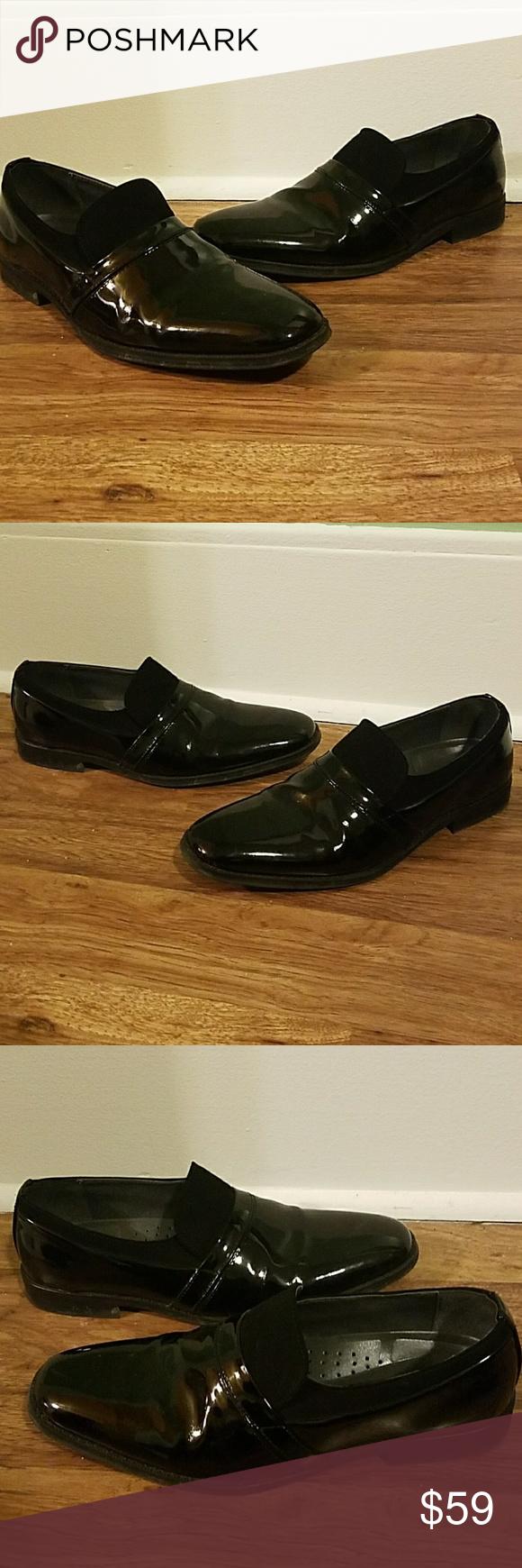 37366b6a7a658 Giorgio Brutini Black Patent Leather Tuxedo Shoes Giorgio Brutini Black  Patent Leather Tuxedo Shoes Size 10M Us Color Black Shiny Patent Leather.