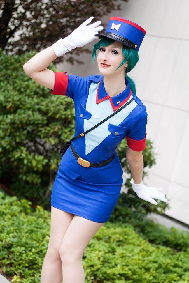 Pokemon Officer Jenny cosplay costume female uniform