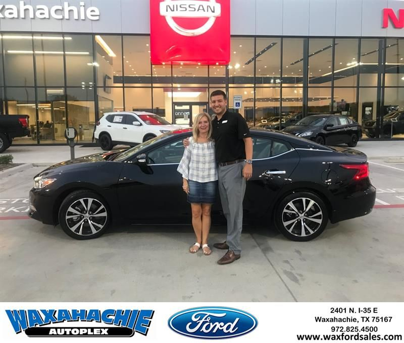 Congratulations Sherrie On Your Nissan Maxima From Casey Gonzales At Waxahachie Ford Https Deliverymaxx Com Dealerrevie Waxahachie Ford Expedition Nissan