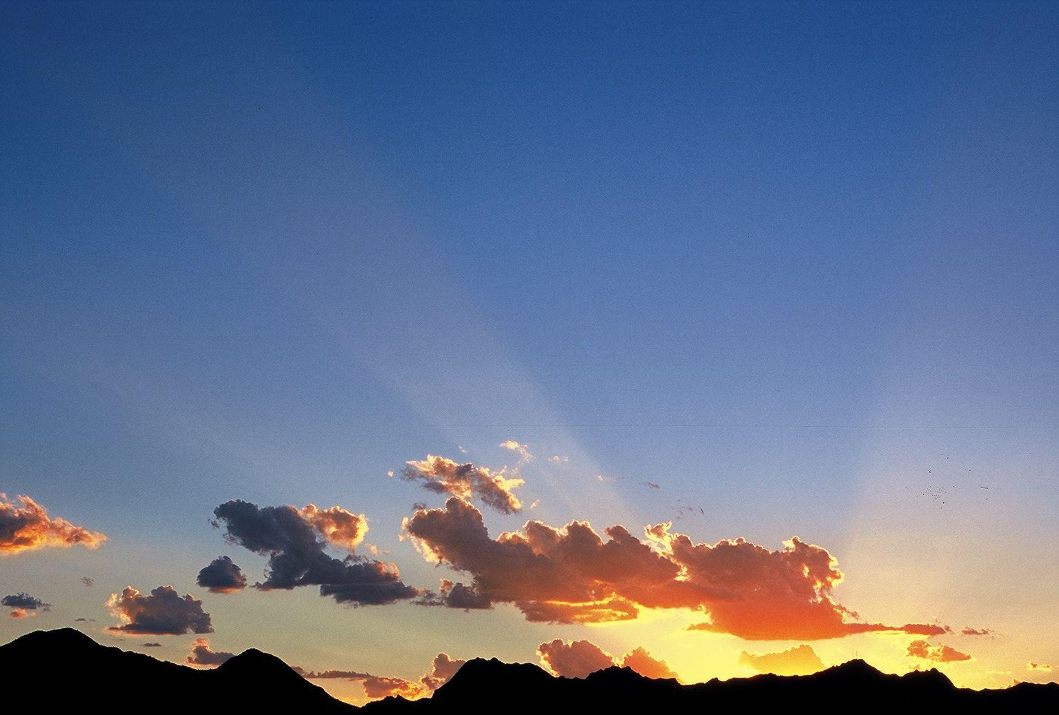 Sunset_over_Tucson_Mts.jpg (1536×1037) Sunset, Sunrise