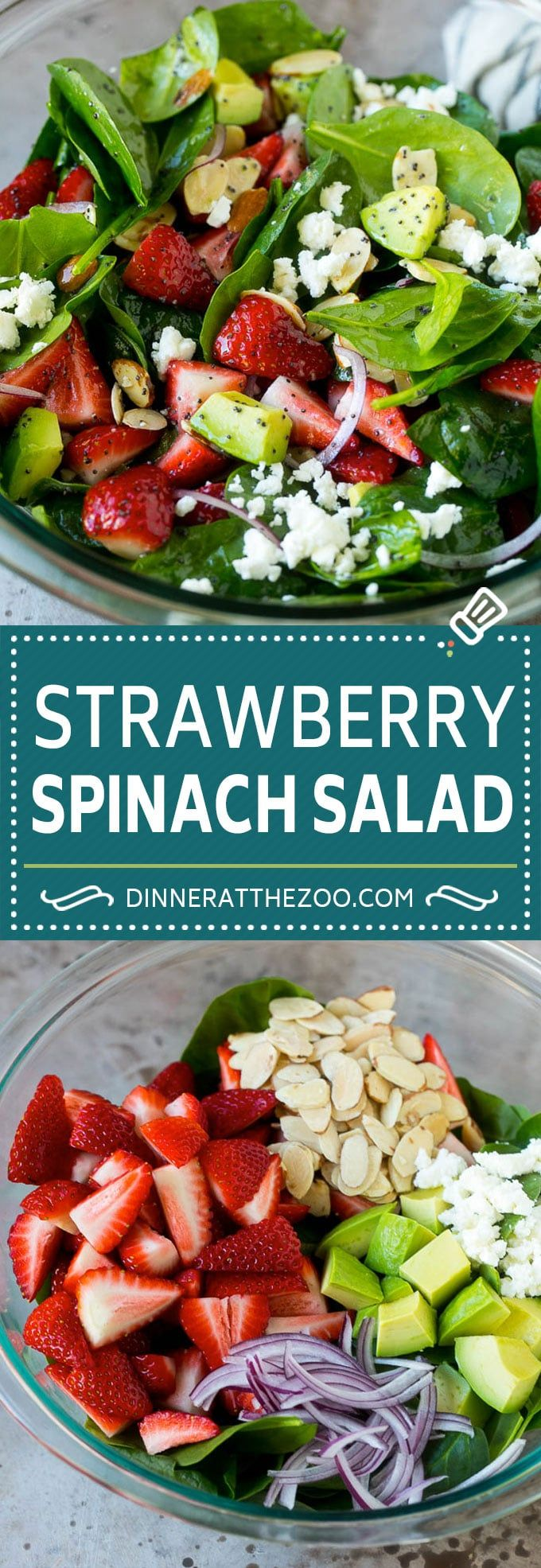 Photo of Strawberry Spinach Salad