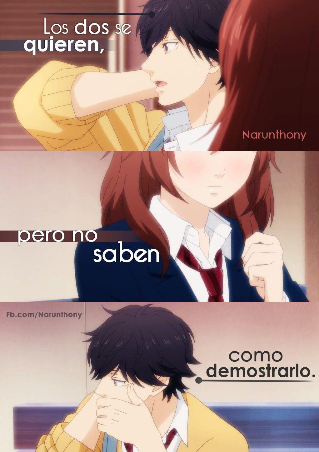 Pero No Saben Como Demostrarlo Anime Pinterest Anime Frases