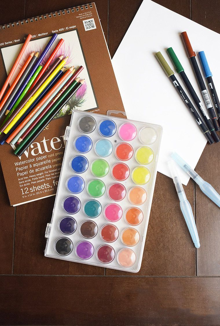 10 Must Have Art Supplies For Every House Arts Crafts Supplies