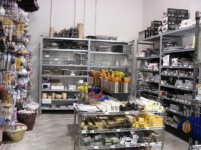 Baking supplies @ Gourmet... | Baking supply store, Baking ...