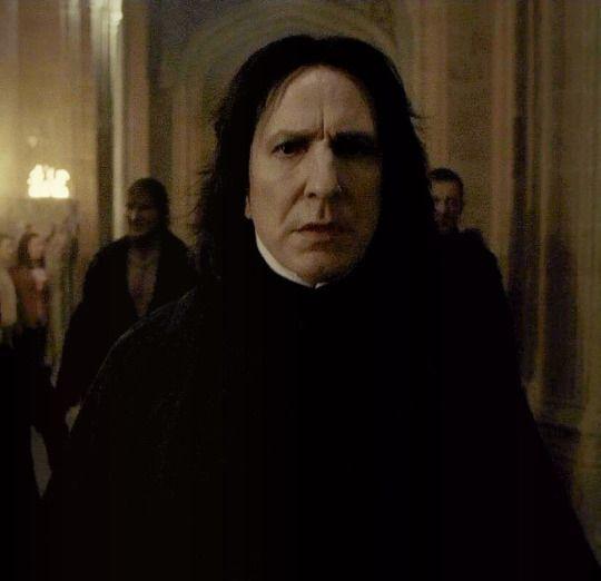 Alan Rickman Severus Rogue Harry Potter Célébrité Carte Masque Wholesale