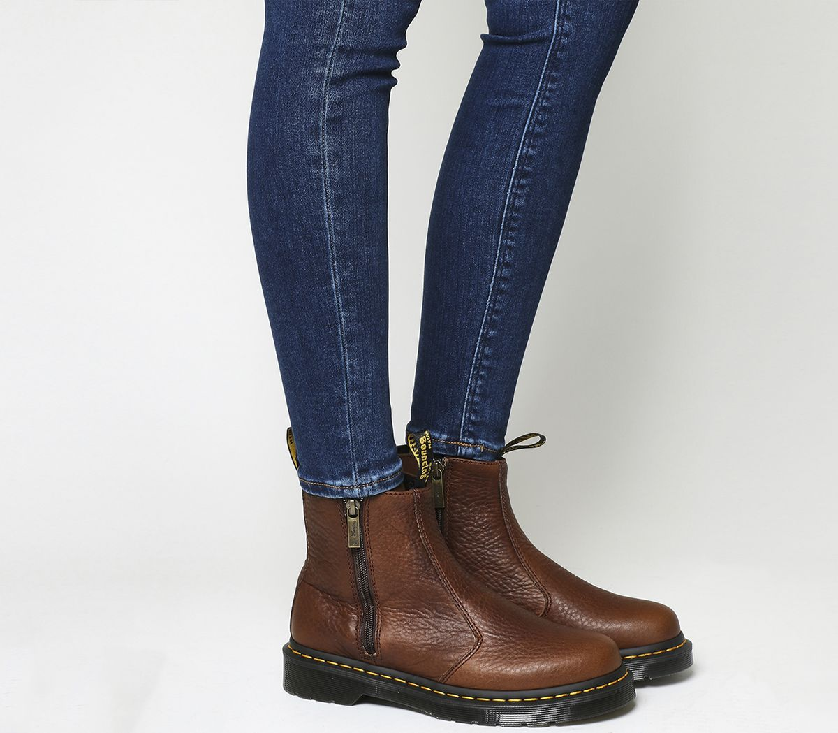 b2cf5b78e 2976 Zip Chelsea Boots   fashion sense   Brown leather ankle boots ...