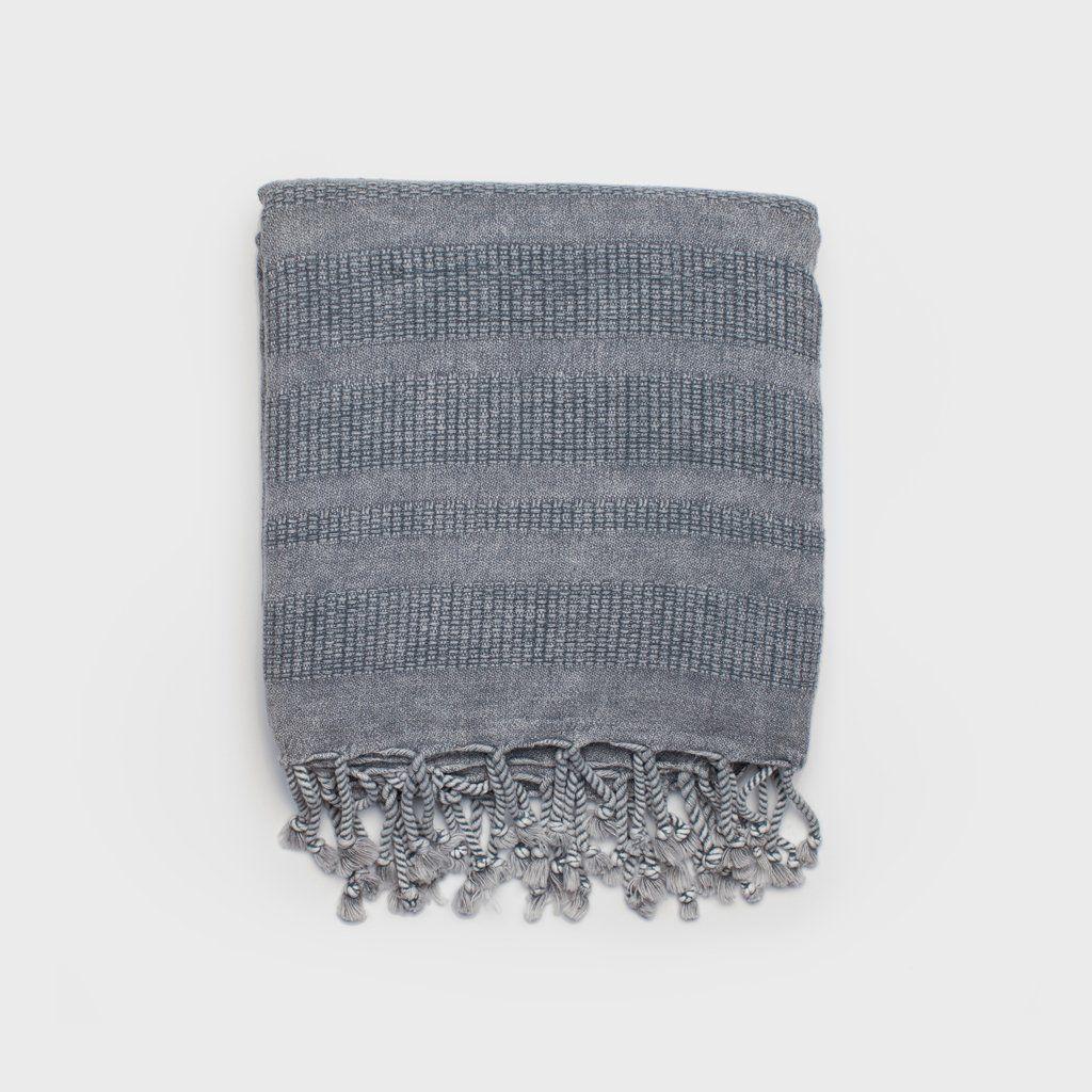Peshtemal Turkish Towel Grey Turkish Towels Towel Handmade