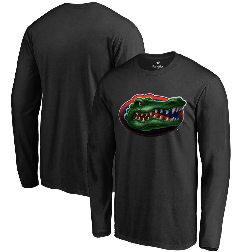 Florida Gators Fanatics Branded Big & Tall Midnight Mascot Long Sleeve T- Shirt - Black