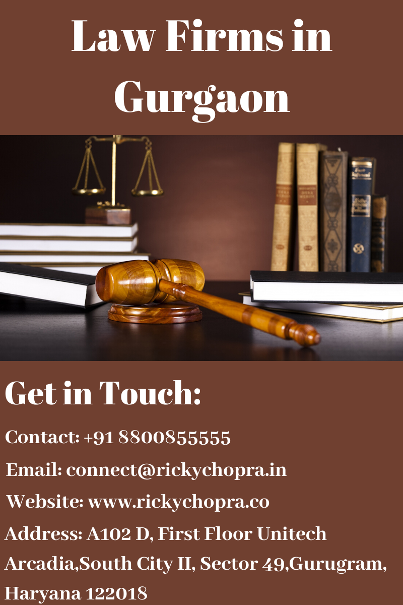 Ricky Chopra Is A Very Good Lawyer In Gurgaon And He Has Solved