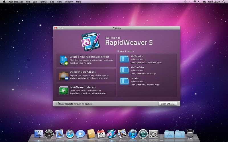 Rapidweaver Web Design Software Coreldraw Web Design