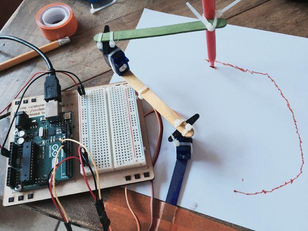 Simple Arduino XY Plotter | plotter | Arduino, Simple