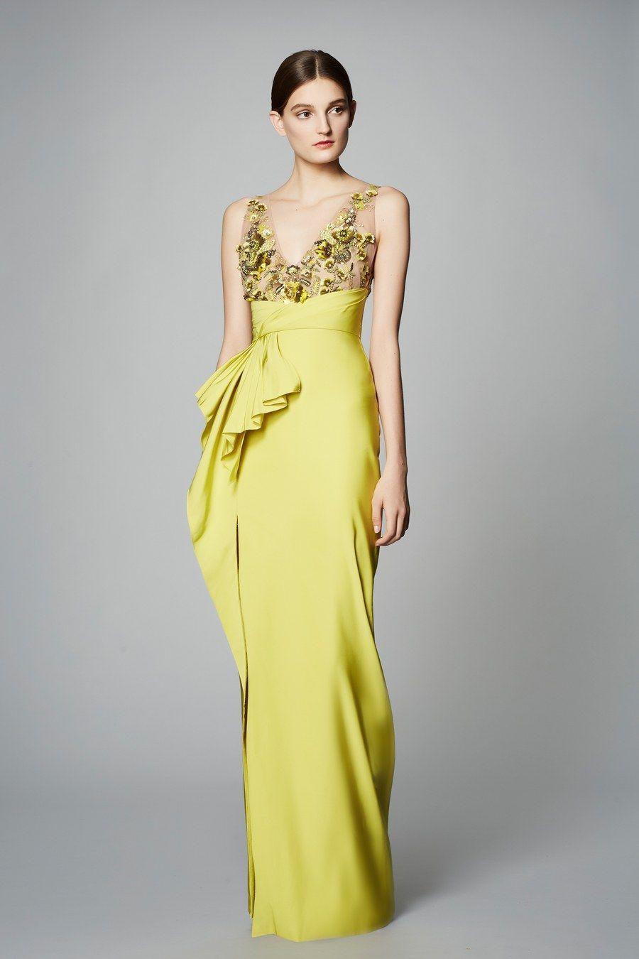 Marchesa notte prefall fashion show gowns u formals